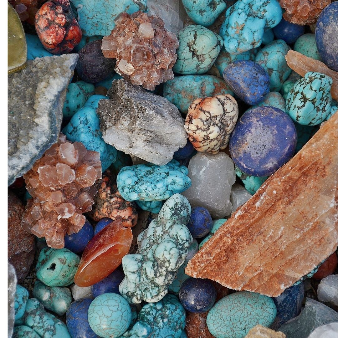 Crystals have healing effect